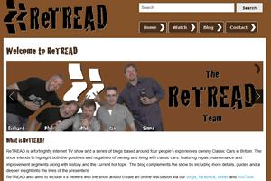 Screenshot of ReTREAD.tv